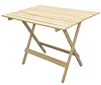 Larsen Sawmilling - wooden table